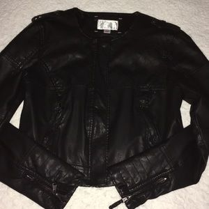 Great Faux Leather Jacket